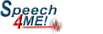 http://speech4me.com/ Logo