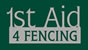http://1staid4fencing.com/ Logo